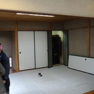ダイニングと和室のワンルーム化