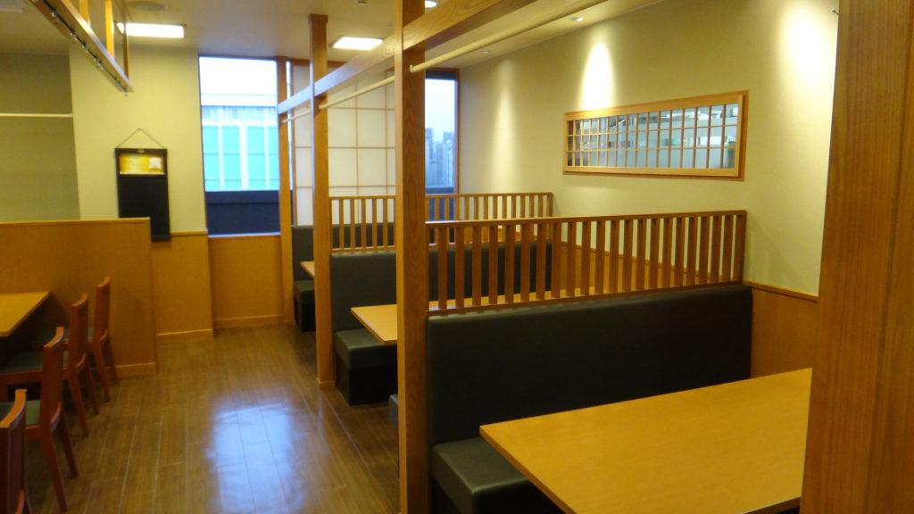 静岡駅ビル内のお寿司屋さんの改装
