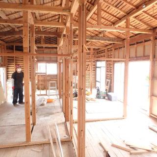 戸建借家の改修