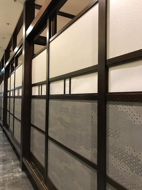 商業ビル内のお蕎麦屋さんの改装